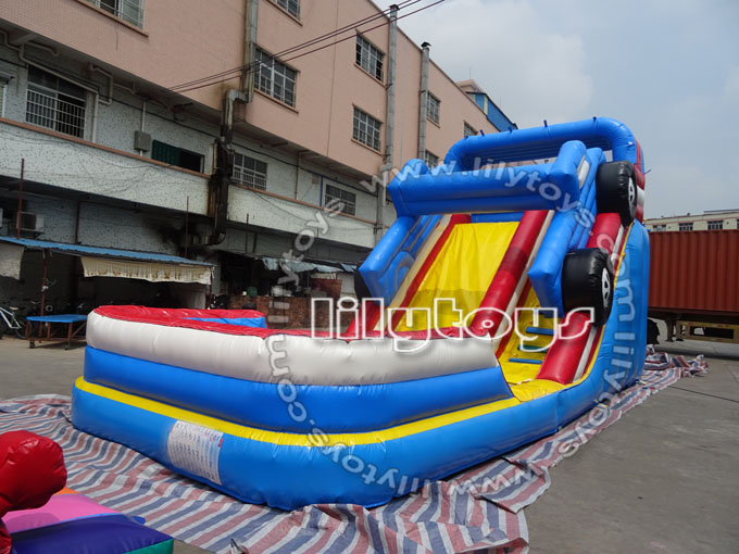 car water slide